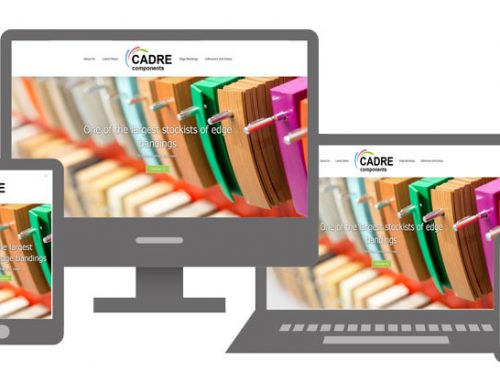 Cadre launch edgy new website