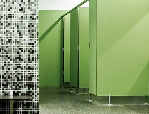 Washroom cubicle edge banding – it's all in the details