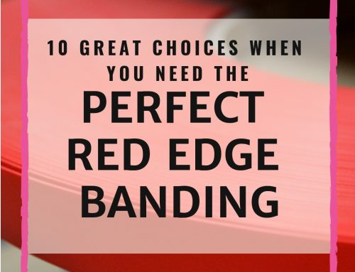 10 Great Choices When You Need The Perfect Red Edge Banding
